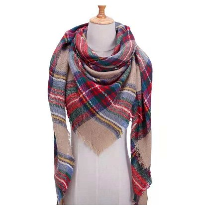 (3888 Reward Point to Redeem) Long Scarf Colorful Scarves Women