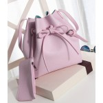 Newest Bucket Bag Women PU Leather Hand Bag Bags Cross-Body Handbag  Women Bags