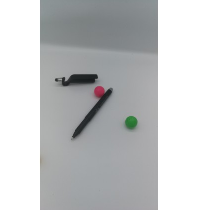 3 in 1 Creative Pen of 88onlineshop.com Touch Screen Pen Phone Holder Pen (Free whole life pen refill)