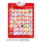 Electronic Hanging Audio Chart Learning Picture Education Mandarin English Learning Word